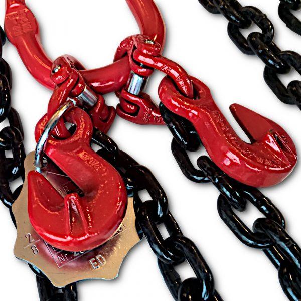Zawiesie łańcuchowe 2 cięgnowe