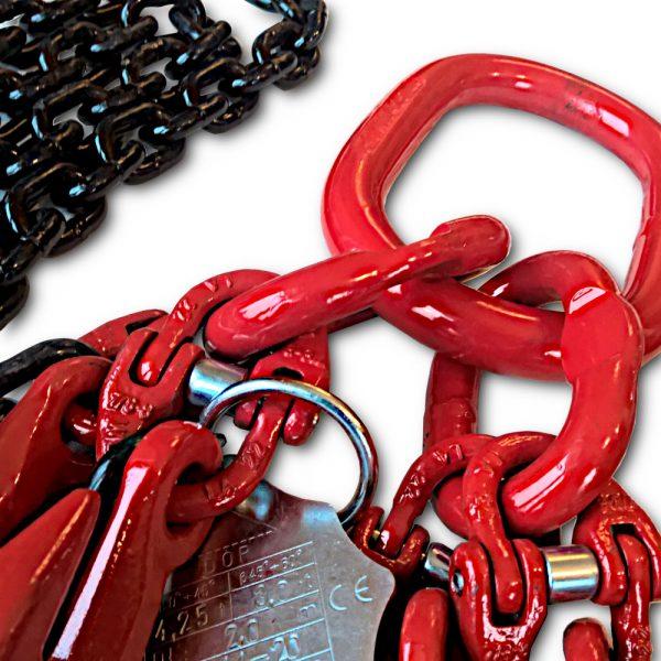 Zawiesie łańcuchowe 4 cięgnowe
